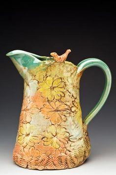 Caroline Zama - daisy pitcher