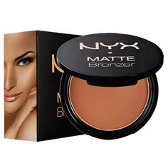 keep that summer bronze all year long with out matte bronzer.
