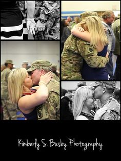 Military homecoming photos by Kimberly S. Busby Photography