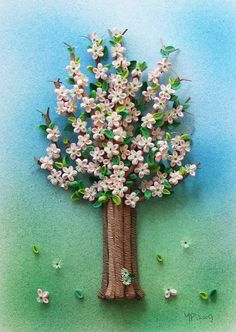 Spring Blossom II, 11 x 8 x 1.3 inches
