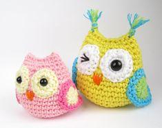 Crocheted Owl - Free Amigurumi Pattern