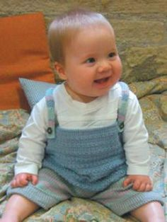 Baby Boy Dungarees Knitting Pattern : Knitting: Baby and Toddler on Pinterest Free Knitting, Baby Sweater?