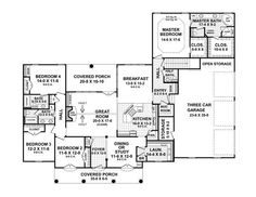 House plans on pinterest house plans bonus rooms and for 2800 square foot house plans