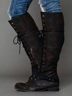 Landmark Lace Boot