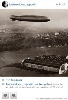 ferdinand_von_zeppelin. Los #zeppelin dominarán el cielo de todo el mundo los próximos 200 años!!