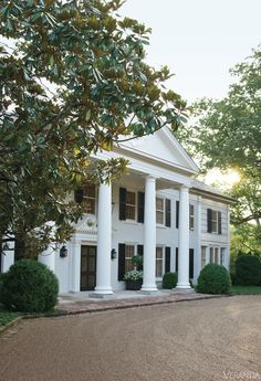 Nashville's historic Boxwood estate. Interior design by David Netto.  ༺༻ Create an Exceptional Decorating Level with Beautiful #Bathroom, Living Rooms, #Pools, #Kitchens and more.  IrvineHomeBlog.com