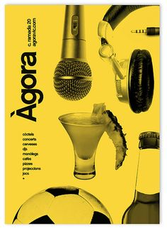 Agora bar _Ad by MARIN DSGN
