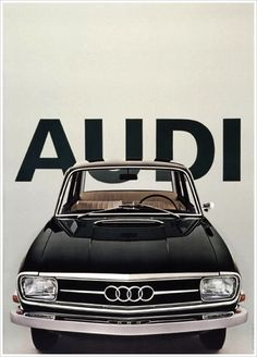 Audi vintage ad