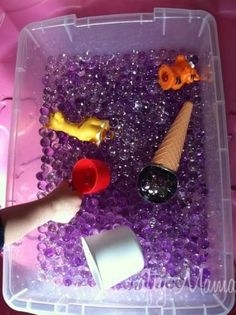 Water beads : a little sensory fun!