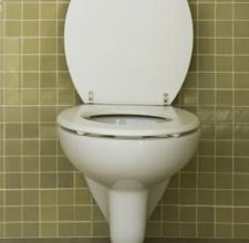 Cleaning stubborn toilet stains