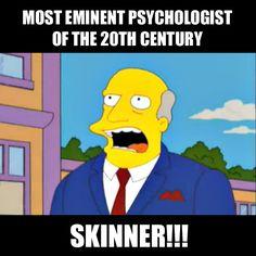 Psychology legend B.F. Skinner.  #BFSkinner #behaviorism #psychology