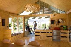 Shoal Bay Bach, Hawke's Bay, New Zealand by Parsonson architects ltd.