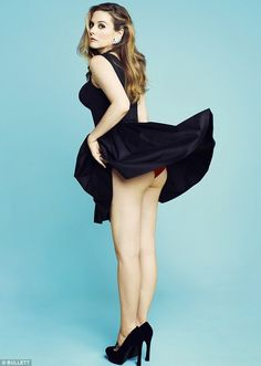 Classic of Alicia Silverstone in a little black dress flashing her red panty covered bottom in high heels