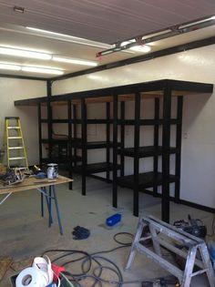 Garage Build Out On Pinterest Garage Shelving Garage