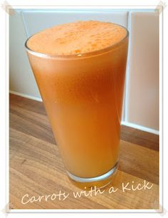 Carrots with a Kick Smoothie | Veggie Style with Daphne