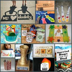 Father's Day Crafts– check out these adorable ideas and link up your own!