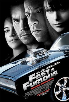 The Fast & The Furious 1, 2, 3, 4 & 5