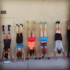 @hautepinkss photo: Love this pic. The hardest pushups ever!  AND, the girl next to me is pregnant! #Crossfit