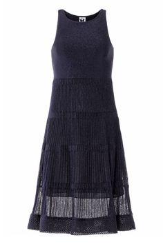 #MMissoni | Blue Lurex Dress | Winter 2013-14 Collection