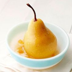 Easy Gingered Pears Recipe