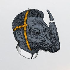Heads  by Valle, via Behance