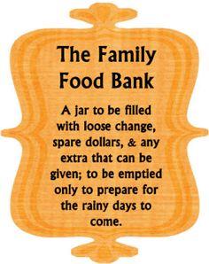 Family Food Banks