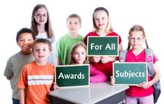The awards and certificates on this page can be used by any subject area and include:  improvement, effort, success, flying high, and dive into learn.  Visit:  http://www.uniqueteachingresources.com/awards-for-all-subjects.html