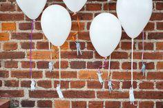 flying people balloons