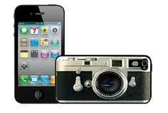 Geekdeco vintage camera hard cover case for iPhone by geekdeco, $10.99