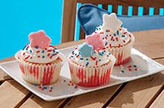 Summer Poke Cupcakes Recipe - Kraft Recipes