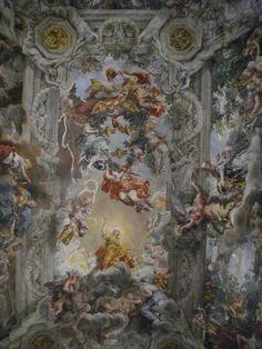 Pietro da Cortona, Trionfo della Divina Provvidenza (1633 - 1639) - Roma, Palazzo Barberini