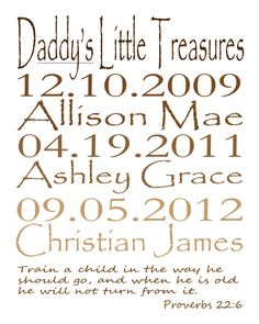 8x10 Personalized Father's Day Subway Art by SubwayForYou on Etsy, $15.00