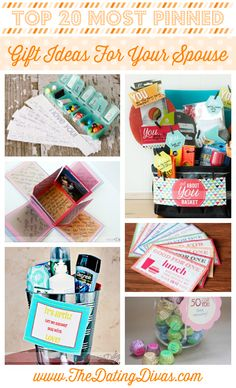 Most Pinned Gift ideas for your spouse from the dating divas