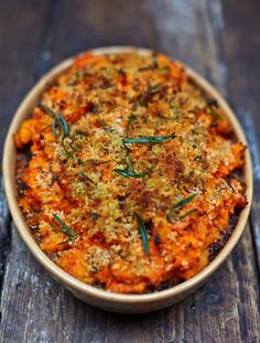 Vegan shepherd's pie A rich, hearty filling topped with gorgeous root-veg mash and zesty breadcrumbs for a super-crisp finish makes this dish really special