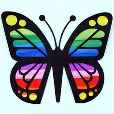 Butterfly Suncatchers | AllFreeKidsCrafts.com