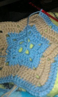CROCHET STAR BLANKET PATTERN - Free Patterns