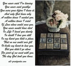 You never said I'm leaving You never said goodbye - Sympathy Card Messages In Loving Memory Friendship, Family Poems And Picture Quotes About Life - all-greatquotes.com vintag, decor, french bulldogs, heart, dream, inspir, valentin, rustic, zsazsa bellagio