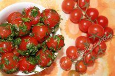 Рецепт зеленые маленькие помидоры острые