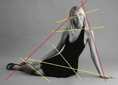 The Ski Slope. The ski-slope pose is an easy, sitting-on-the-ground pose with excellent balance. It provides a wide triangular base and long, dynamic diagonal lines.