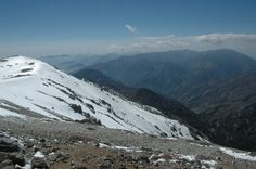 Snow in the middle of May... Mt. Baldy 10,046ft Elevation