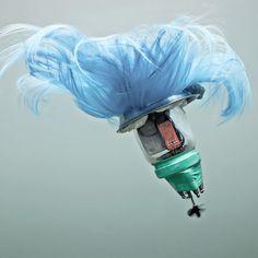 Deep Sea Creatures? Floating Trash? Nope, Just Fantastic Underwater Sculptures #art #pollution