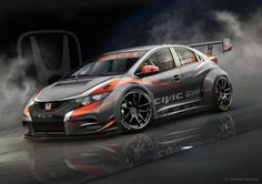 2014 HONDA CIVIC WTCC RACE CAR