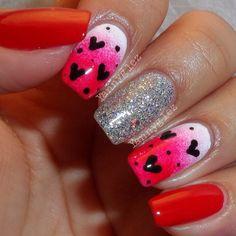 valentine by yannyglez  #nail #nails #nailart