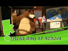 Masha & The Bear - First Day of School