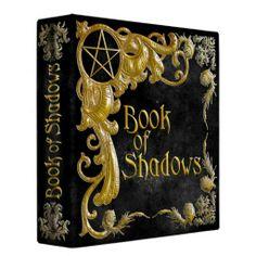 black magic book of shadows binder