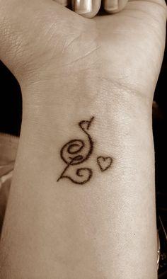 K Initial Tattoos Tattoo Initials