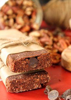 German Chocolate Protein Bars