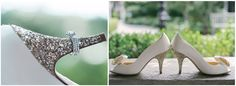 Aren't the shoes half the fun?#FearringtonWedding #FearringtonVillage | Photographed by @krystalkast Photography #KrystalKastPhotography