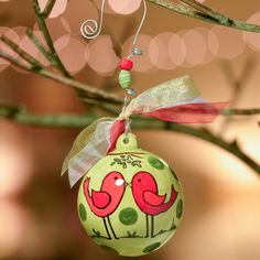 Merry Christmas Darling Ornament