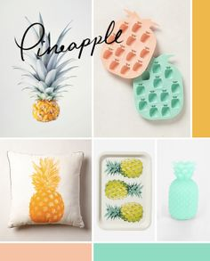 pineappl, pear